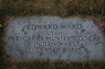 1895 Headstone Edward Ward 2